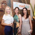 Sandra Staffa, Caroline Passos e Monica Chagas