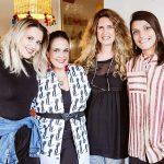 Aline Moniz, Marcia Kemp, Krika Koeller e Paula Regufe
