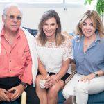 Luiz Quattrone, Gabriela Matarazzo e Sonia Simonsen