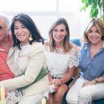 Luiz Quattrone, Teresa Aczel, Gabriela Matarazzo e Sonia Simonsen