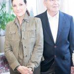 Maite e Luiz Felipe Mattoso
