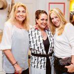Vera Areas, Marcia Kemp e Celina Cassab