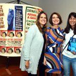Andrea Gonçalves , Monica Barki e Rita Capell