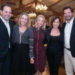 David Zylbersztajn e Kiki Moretti, Solange Medina, Bebel Niemeyer e Miguel Pinto Guimarães