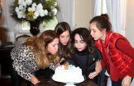 Vera Loyola sobe a Serra para comemorar aniversário