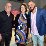 Renato Lage, Monica Barki e Leandro Vieira