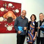 Tchello D'Barros, Monica Barki e Alex Hamburger