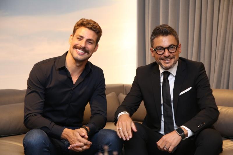 Natuzzi Italia abre as portas em Brasilia com Cauã Reymond