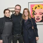 Carol Bertoni, Houssein Jarouche e Eugenia Maia