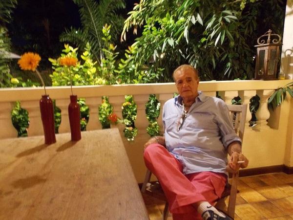 Humberto em Aruba. Férias