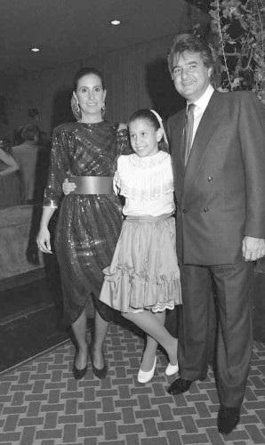 Madeleine e Humberto com Tamima, a filha amada