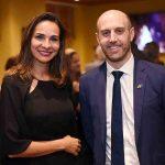 Cris Beltrão e o Consul Geral da Nova Zelandia Nicholas Swallow