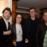 Eucanãa Ferraz, Cristina Freitas, Marcelo Bies e Paulo Henriques Brito