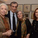 Fernanda Montenegro, Antonio Cícero, Rosiska Darcy de Oliveira e Ruth Niskier