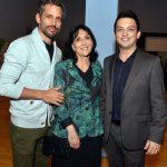 Gabriel Mattar, Denise Mattar e Fabio Cunha