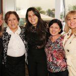 Georgiana Guinle, Regina Célia, Andrea Furlan, Carmen Lucia Ramos