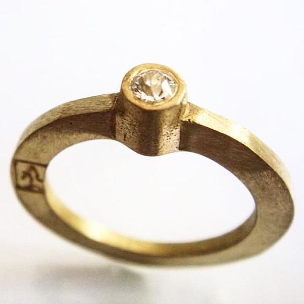 ouro e diamante