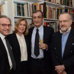 João Almino, Mary Del Prioli, Antonio Cícero e Ricardo Cravo Albim