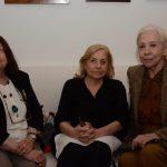 Nélida Piñon, Jacqueline Laurence e Fernanda Montenegro