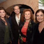 Renata Adler, Jaime e Maria Eduarda Leitão e Kátia D'Avillez