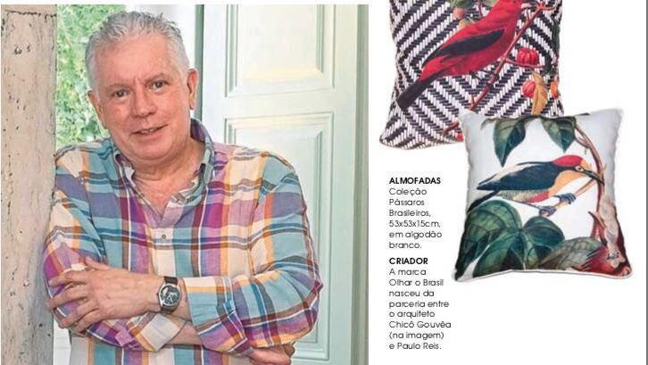 Arquiteto brasileiro é destaque na Caras de Portugal