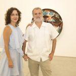 Adriana Varejão e Pedro Buarque de Holanda