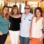 Ana Cano Milman, Eva Taquechel, Chico Vartulli e Andrea Neves Duarte