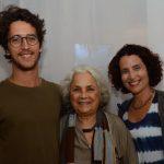 Antonio, Maria Clara e Letícia Mariani