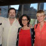 Chico Chaves, Jorge e Tânia Duarte e Miriam Loellmann