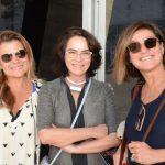 Cinthia Fontes, Evangelina Seiler e Andréa Prado