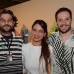 Eduardo Robeiro, Maria Espírito Santo e Hugo Bianco