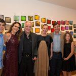 Família Carvalho com o maestro e esposa