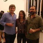 Florian Fournier, Glaucia Costacoi e Brunno Jahara