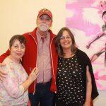 Irene Monteiro, Jhon Reed e Teresa Neves