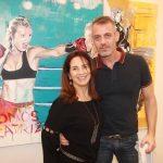Ligia Teixeira e Walter Goldfarb
