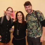 Fernando Grossman, Ligia Teixeira e Eduardo Alves
