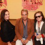Os artistas plastico Marilou Wino Graft, Eneas Valle e Vania Velloso