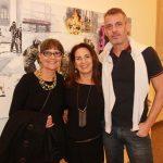 Deborah Geller, Ligia Teixeira e Walter Goldfarb