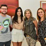 Jarves Rockenbach, Maria Antonia Ferraz, Vivian Rockenbach e Ana Paula Freitas