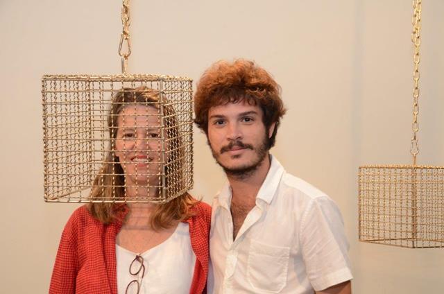 """Jessica Kloosterman apresenta a individual """"Torniquete"""", na Galeria Candido Mendes"""