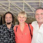 Jorge Fonseca, Miriam Loellmann e Chico Chaves