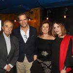 Jose Hugo Celidoneo, Jaime Leitão, Maria Eduarda Grillo e Liege Monteiro
