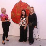 Leila Horta, Flavia Portela e Laura Buernier