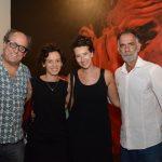 Luiz Camillo Osório, Bárbara Wagner, Michele Sommer e Marcos Cardoso