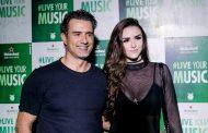 Marcos Pasquim Também foi conferir as atrações do Rock in Rio