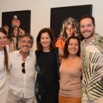 Maria Espírito Santo, Luiz Pizarro, Lucrécia Vinhaes, Lúcia Meneghini e Hugo Bianco