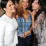 Rosa Leal, Carla Daniel e Surama de Castro