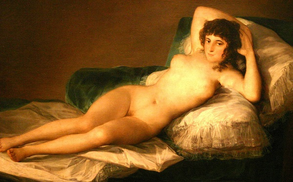 A maga desnuda, Goya, Museu do Prado