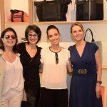 Ana Lúcia Vinhaes, Elzinha Barroso, Claudia Mota e Patrícia Veiga