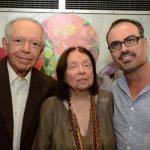 Antonio Torres, Nélida Piñon e Christovam de Chevalier